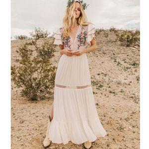 NWT- Cleobella Daphne Maxi Dress